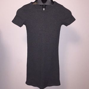 Grey t shirt dress